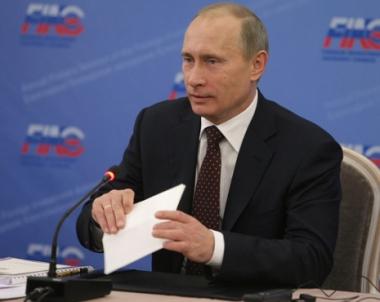 بوتين: اكثر من 40 مليار دولار قيمة الاستثمارات الاجنبية المباشرة في روسيا عام 2009