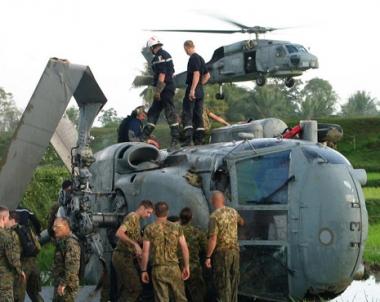 مقتل 3 اشخاص في تحطم مروحية عسكرية امريكية في المانيا