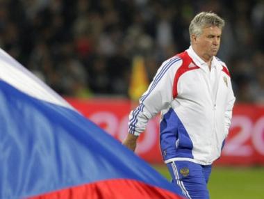 هيدينك باق مع المنتخب الروسي لكرة القدم