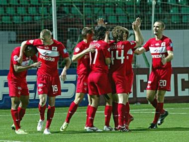 سبارتاك موسكو يحقق فوزه الثاني تحضيرا للدوري الروسي لكرة القدم