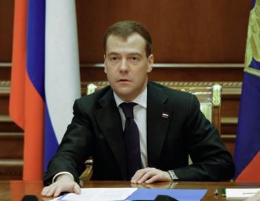 مدفيديف: روسيا تدعو الى رسم موقف مشترك جديد من معالجة القضايا العالمية