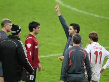 فريق موسكو خارج الدوري الروسي الممتاز لكرة القدم