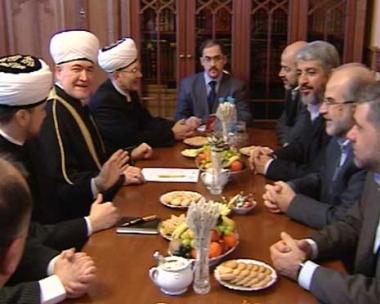 رئيس مجلس مفتي روسيا يدعو الفلسطينيين الى تجاوز خلافاتهم