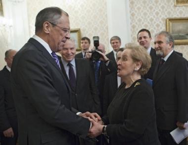 اقتراحات موسكو للناتو تتصدر مباحثات لافروف-أولبرايت