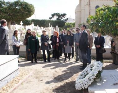 احياء ذكرى اخر قناصلة الامبراطورية الروسية في بيروت والاسكندرية
