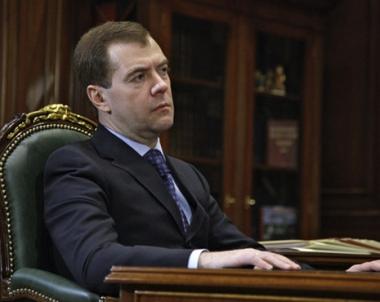 مدفيديف: الرئيس الجورجي سيتحمل المسؤولية عن الاعتداء على اوسيتيا الجنوبية في عام 2008