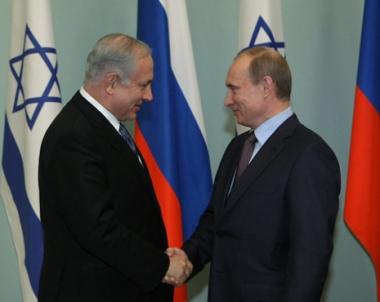 بوتين يعول على توسيع التعاون الاقتصادي والفني مع اسرائيل