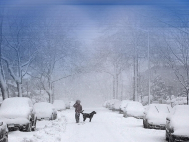 تساقط الثلوج بمعدلات قياسية في موسكو