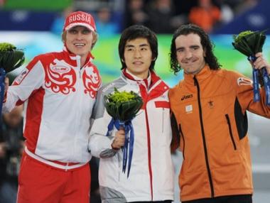 الروسي سكوبريف يحرز ميدالية ثانية في فانكوفر