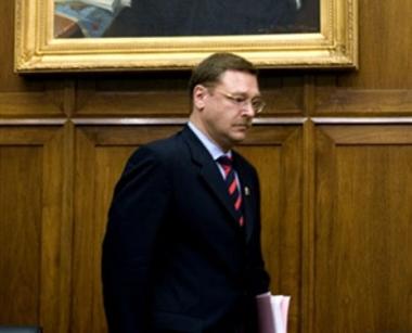 نائب روسي: التوقيع على معاهدة