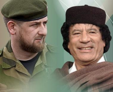 القذافي يدعو أبناء الشيشان بأن يظلوا مواطنين في دولة قوية هي روسيا