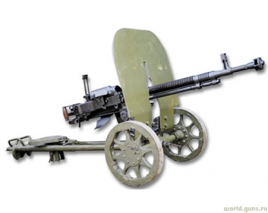 أسلحة المشاة إبان الحرب الوطنية العظمى