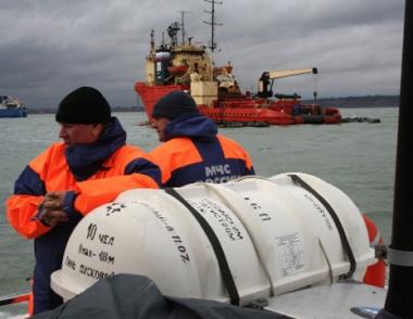 سفينة مصرية تطلب من فرق الانقاذ الروسية تقديم مساعدة طبية لأثنين من طاقمها