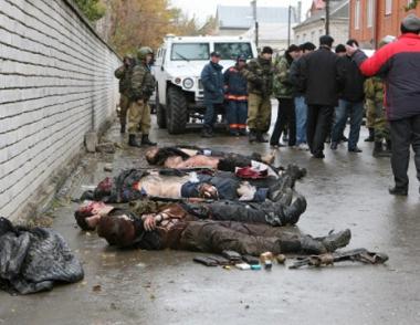 القضاء على 6 مسلحين في احدى القرى الانغوشية
