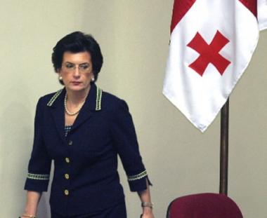 زعيمة المعارضة الجورجية تتوجه الى موسكو لبحث موضوع تطوير العلاقات بين البلدين
