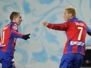 تسيسكا يفتتح نزالات الدوري الروسي بفوز في اللحظات الأخيرة