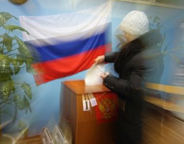 الانتخابات الإقليمية تجري في مختلف أنحاء روسيا