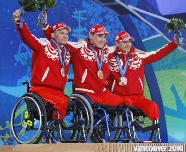 المانيا تلحق بروسيا في حصيلة الذهب باولمبياد فانكوفر لذوي الاحتياجات الخاصة