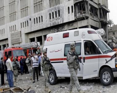 انفجارات تتسبب بجرح 6 اشخاص في بغداد