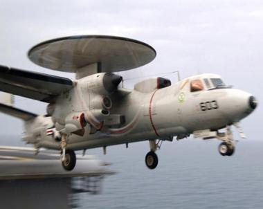 تحطم طائرة استطلاع امريكية في بحر العرب