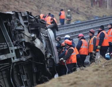 انحراف قطار عن مساره نتيجة انفجار استهدف خط للسكة الحديدية في داغستان