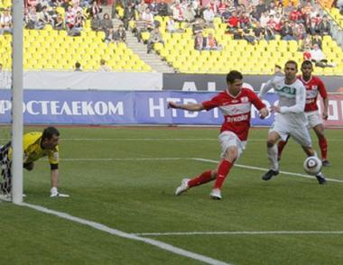 سبارتاك موسكو يحقق فوزاً صعباً على ضيفه تيريك غروزني