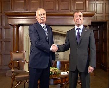 رئيسا روسيا وأوزبكستان يبحثان مسائل الأمن في آسيا الوسطى والتعاون الثنائي