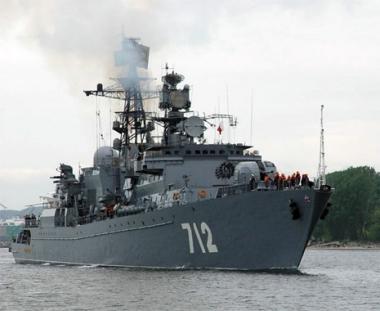 سفينتا الحراسة لاسطول بحر البلطيق الروسي تعودان الى قاعدتهما