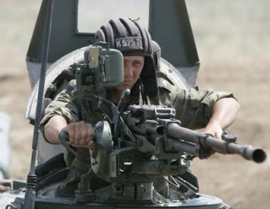 المناورات التكتيكية للواء المشاة الميكانيكة الروسي في منطقة شمال القوقاز