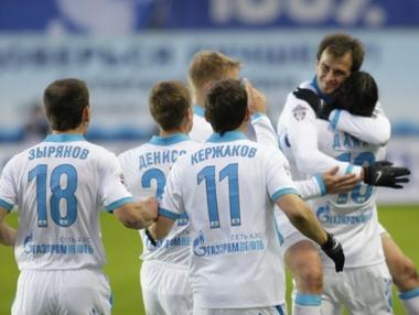 زينيت يمنح سيبير بطاقة التأهل الى الدوري الأوروبي