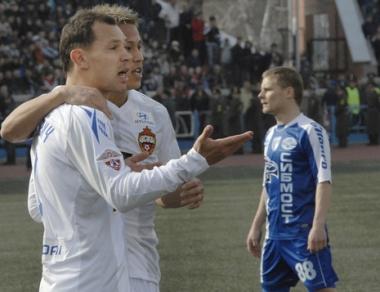 تسيسكا موسكو يحقق فوزاً عريضاً على سيبير
