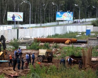 مقتل شخص واصابة 4 آخرين في انفجار انبوب غاز شمال موسكو