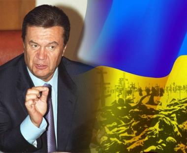 يانوكوفيتش: لا يمكن اعتبار المجاعة الشاملة في اوكرانيا ابادة جماعية للاوكرانيين