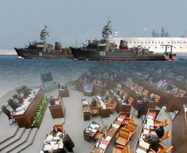 مجلس الاتحاد الروسي يصادق على اتفاقية تمديد بقاء اسطول البحر الاسود الروسي في اوكرانيا