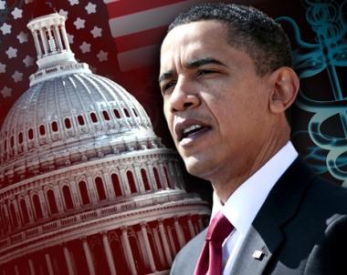 اوباما يعرب عن امله بان يعتمد الكونغرس قانوناً يحد من نفوذ راس المال في العملية السياسية