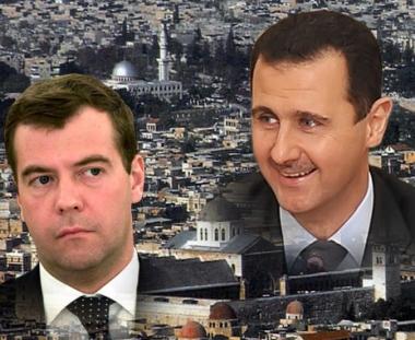 اول زيارة لرئيس روسي الى سورية في الاسبوع القادم