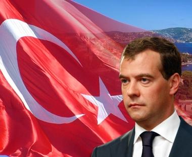 الرئيس دميتري مدفيديف يقوم بزيارة رسمية الى تركيا في 11 ـ 12 مايو/أيار