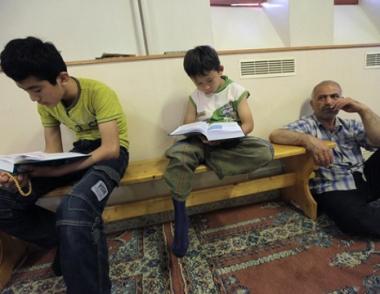 افتتاح مسابقة طلاب المؤسسات الدراسية الإسلامية في موسكو
