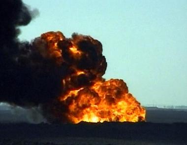 اندلاع حريق في بئر نفطية بإيران يودي بحياة 3 اشخاص واصابة 12 اخرين