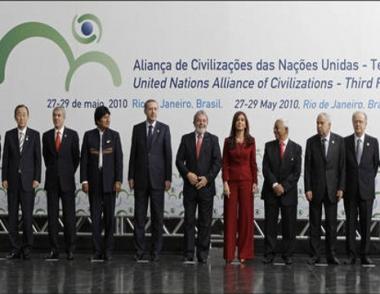 الملف النووي الايراني يطغى على اعمال المنتدى الثالث للحضارات في البرازيل