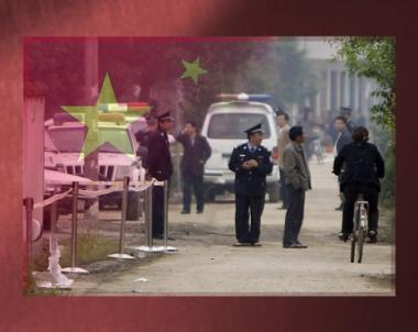 اعدام صيني اعتدى بسكينه على مدرسة اطفال
