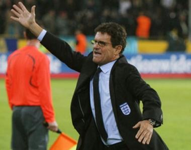 كابيللو يكشف عن تشكيلة إنكلترا لمونديال 2010