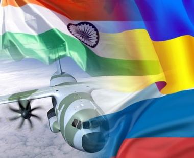 روسيا والهند واوكرانيا تدرس امكانية دمج مشاريع لتصنيع طائرة نقل حديثة