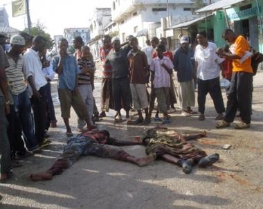 متطرفون صوماليون يقتلون ويختطفون مشجعي كرة القدم