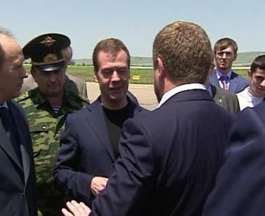 مدفيديف يؤكد تحقيق تقدم في مجال الامن بجمهورية الشيشان
