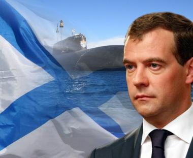 مدفيديف: روسيا ستخصص مبالغ كبيرة لتطوير الاسلحة الهجومية والدفاعية الحديثة