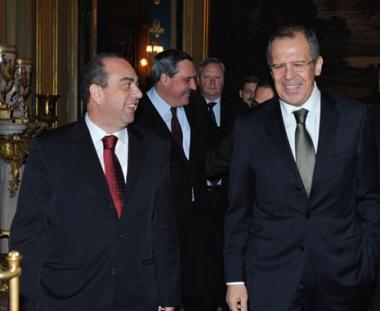 لافروف: يجب تسوية القضية القبرصية في اطر قرارات مجلس الامن الدولي