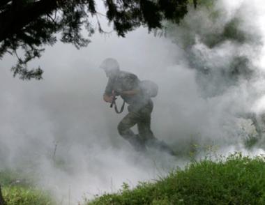 مصرع عسكري واصابة 24 آخرين نتيجة حريق نشب في ساحة تدريب تابعة لدائرة موسكو العسكرية