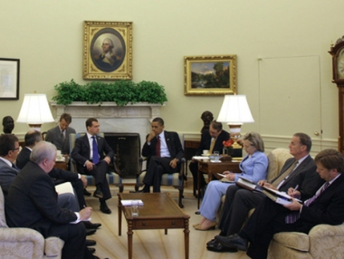 محادثات مدفيديف واوباما  تتناول الملفين الايراني والكوري الشمالي وقضايا الشرق الاوسط