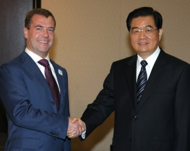 هو جين تاو: الصين مستعدة لتعزيز التنسيق مع روسيا في مجموعة